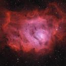 Lagoon Nebula HaO3RGB,                                Ezequiel