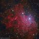 IC 405 - Flaming Star Nebula,                                Dhaval Brahmbhatt