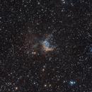 NGC 2359: Thor's Helmet,                                James Schrader