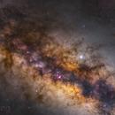 Milky way (23-frame mosaic),                                Shenyan Zhang