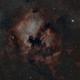 pelican et NGC 7000,                                echosud