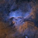 Fighting dragons, NGC6188, SHO.,                                David Pastern