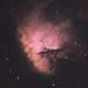 Pacman Nebula NGC 281,                                ks_observer