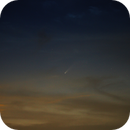 Comet NEOWISE in the evening sky,                                Ryan Betts
