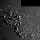 Plato and Vallis Alpes,                                Andrea Vanoni