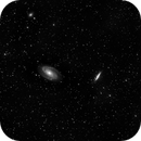 "M81 - M82 - wide field - another luminance only test for 8""RASA,                                Uwe Deutermann"