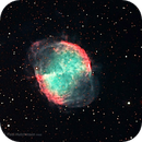 The Dumbbell Nebula - Messier 27 HaRGB,                                Paul Hutchinson