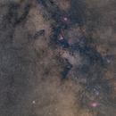M8 to  M16 Widefield at Sagittarius,                                Siegfried