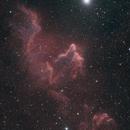 Ghost Nebula in HOO (TSA102/AtikOne),                                Jean-Baptiste Auroux