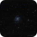 M101 - Pinwheel Galaxy,                                Dario Iraci