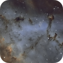 Globulettes of Rosette Nebula,                                AnttiJii