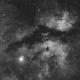 The Butterfly Nebula in Hydrogen Alpha,                                Wesley Creech