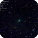 Comet PanSTARRS and the Double Cluster - 22 Jan 2020 - 1706mm RGB,                                MJF_Memorial_Observatory