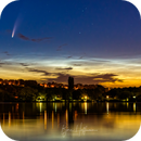 Comet NEOWISE and NLCs during Dawn, Part 2,                                Björn Hoffmann