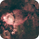 Fish-Head Nebula (NGC 896) in Synthetic RGB,                                Frank Kane