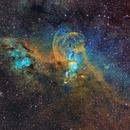 NGC 3576,                                Warren A. Keller