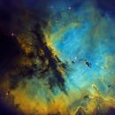 Pacman Nebula NGC 281 Narrow Band,                                dts350z
