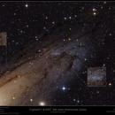 Cepheid Var 1 and NGC 206 in Messier 31,                                Frank Schmitz