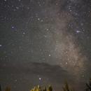 Milky Way - Outside West Yellowstone, MT,                                slyfur