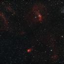 Bubble nebula region,                                Nikolay Iliev