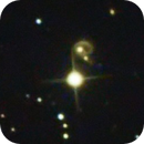 PGC 25211 galaxy collision,                                CCDMike