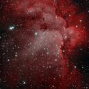 A Bi-color image of the Wizard Nebula,                                Kevin Dixon