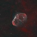 Crescent Nebula - SHO & HOO: EdgeHD 11,                                Andrew Burwell