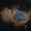 The Soul Nebula in SHO,                                Alex Roberts