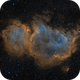 The Soul Nebula in SHO,                                Alex Roberts