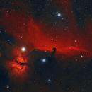 HorseHead and Flame Nebula,                                Jared Roberts