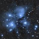 M45 Pleiades from  Razanj, Croatia,                                Saša Nuić