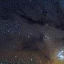 Rho Ophiuchus Région d'Antares,                                LAMAGAT Frederic