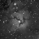 Messier 20 des de l'observatori OAIA (Institut d'Alcarràs),                                JOSE MANUEL PEREZ REDONDO