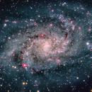 Triangulum Galaxy, M 33,                                Ricardo Pereira
