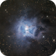 Iris nebula,                                Patrick Chevalley