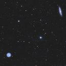 M 108 and Owl Nebula,                                Robin Clark - EAA imager