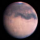Mars & Olympus Mons,                                Giovanni Calapai