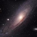 M31 First Light with TS-Optics 94EDPH,                                SJK