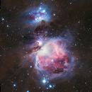 M42 - Orion Nebula (Revisit with Nikon D500),                                Min Xie
