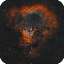 The Cosmic Question Mark (NGC7822) - widefield,                                Axel