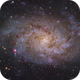 M33 - Triangulum Galaxy,                                Tyler Jackson Welch