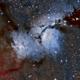 M78 - Diffuse Nebula in Orion (Ha+LRGB version),                                Dhaval Brahmbhatt