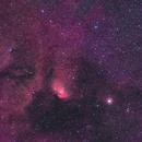 Tulip Nebula - Sharpless 101 (Sh2-101),                                Marcel Drechsler