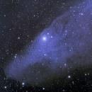 IC4592 Blue horse Nebula,                                Mark Eby