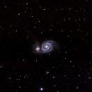 M51 Whirlpool galaxy,                                Mikael De Ketelaere