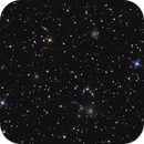 NGC 7342 and 7345 near a compact galaxy cluster,                                lowenthalm