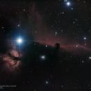 Horsehead & Flame Nebula,                                Landon Boehm