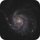 M101 - Pinwheel Galaxy (HaRGB),                                Benny Colyn