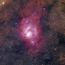NGC 6523  - Lagoon Nebula - M8,                                Gabe van den Berg