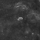 NGC 6888 Cresent nebula Ha,                                Frank Rauschenbach